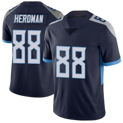 Nike Cole Herdman Tennessee Titans Youth Limited Navy 100th Vapor Untouchable Jersey