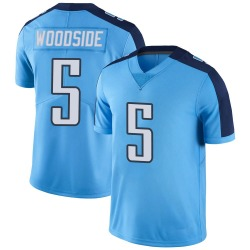 Nike Logan Woodside Tennessee Titans Men's Limited Light Blue Color Rush Jersey