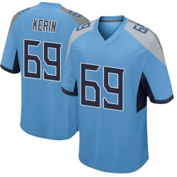 Nike Zac Kerin Tennessee Titans Youth Game Light Blue Jersey